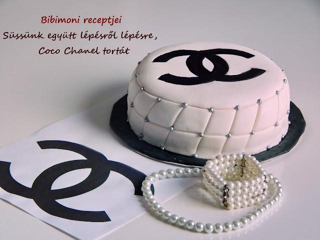 Süssünk együtt lépésről lépésre, Coco Chanel tortát
