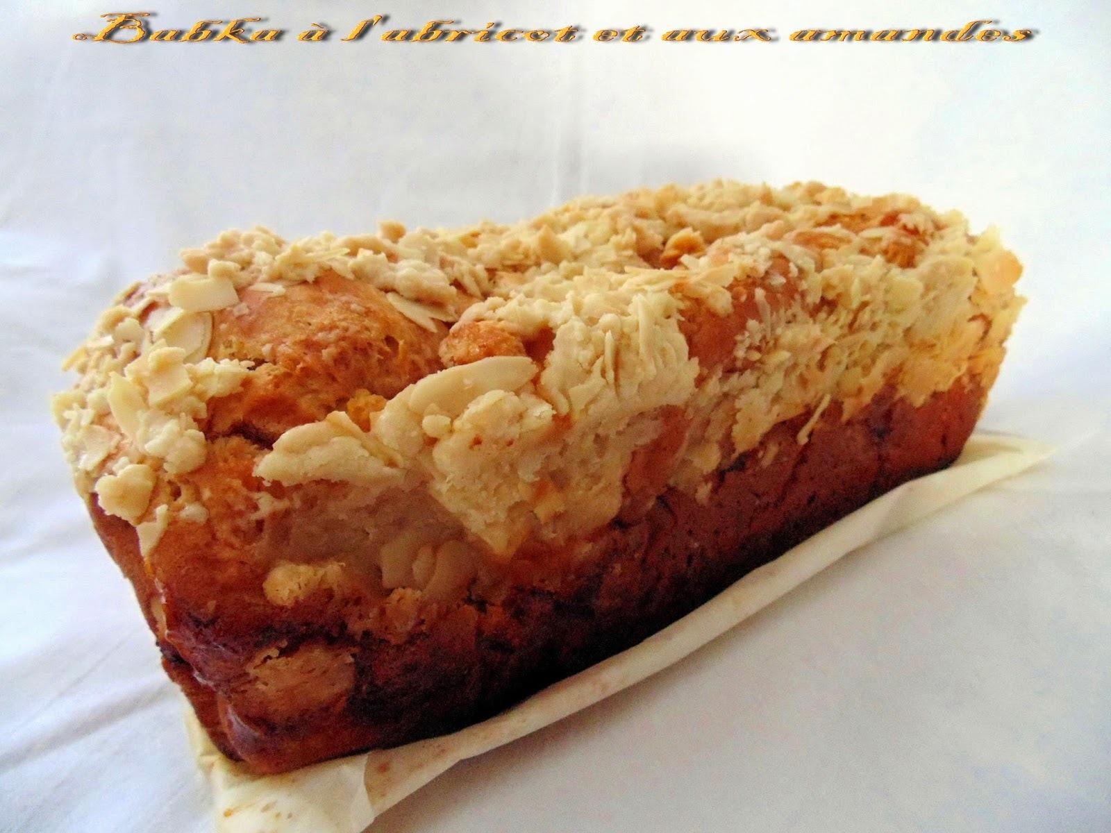 Babka à l'abricot et son streusel aux amandes (Pâques)