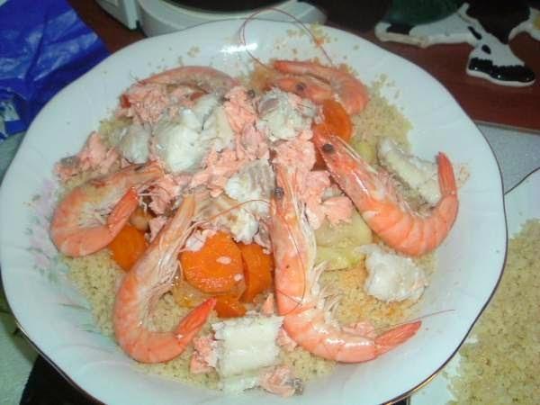Recette Couscous marocain de poisson