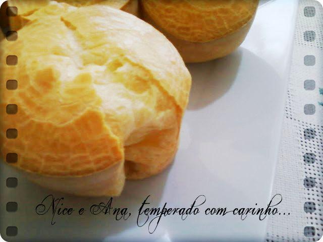 pão de queijo caseiro com polvilho doce