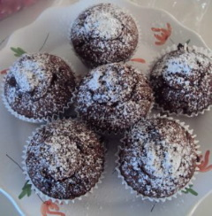 Faggots or Cheats Version...Rissoles – Chocolate Surprise Cup Cakes for Dessert