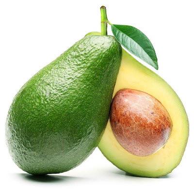 Sorvete caseiro de abacate