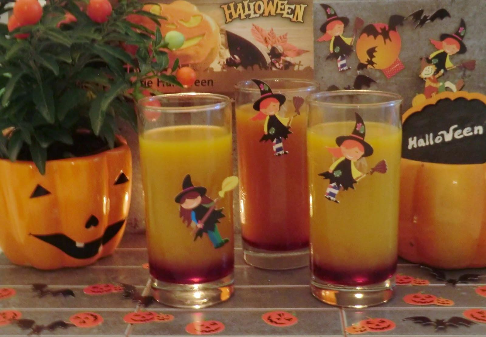 Cocktail d'Halloween pour petits ou grands