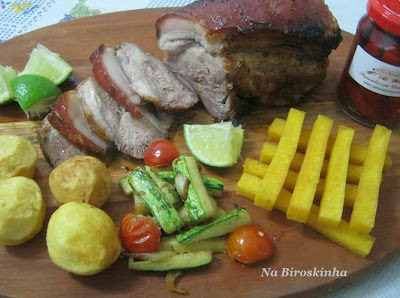 file de pernil assado