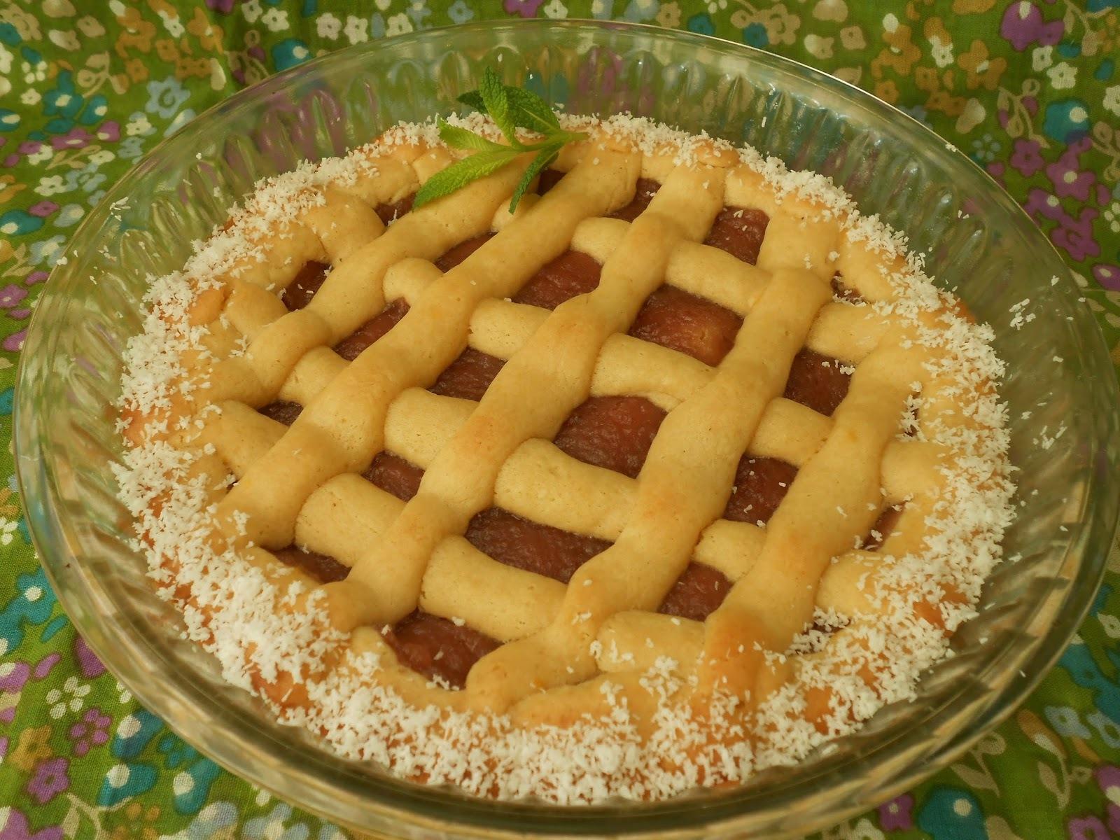 Pasta frola de manzana