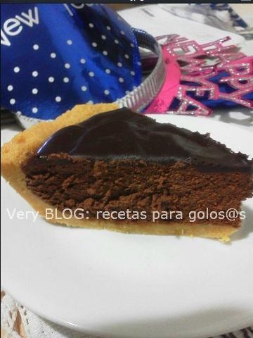 PIE DE CHOCOLATE TRUFA