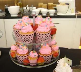 Cupcake Moranguinho