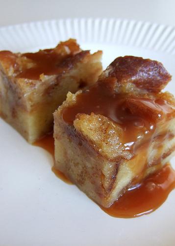 Crock Pot Nutella Bread Pudding w/Hard Sauce