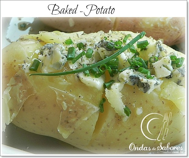 Baked Potato ou Batata Recheada