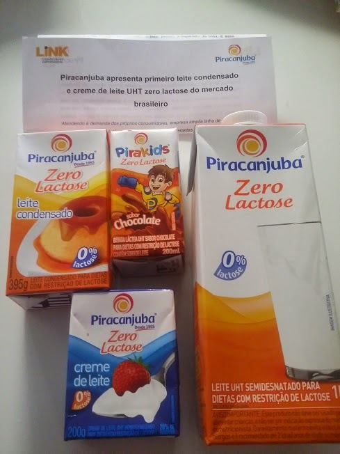 Piracanjuba apresenta o primeiro leite condensado e creme de leite UHT Zero Lactose do Mercado brasileiro