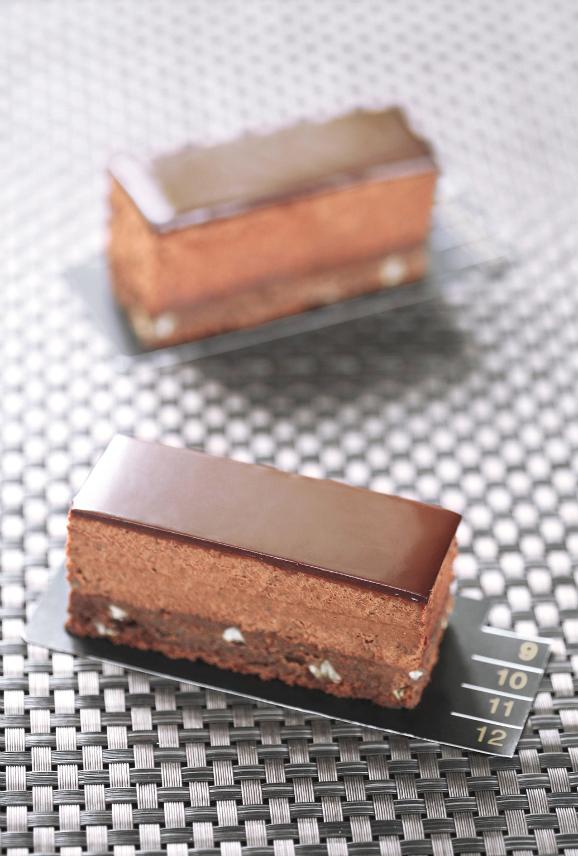 Трюфельный бар с каштанами / Barras trufadas de chocolate com castanhas