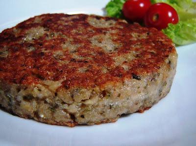 hamburguer de soja caseiro