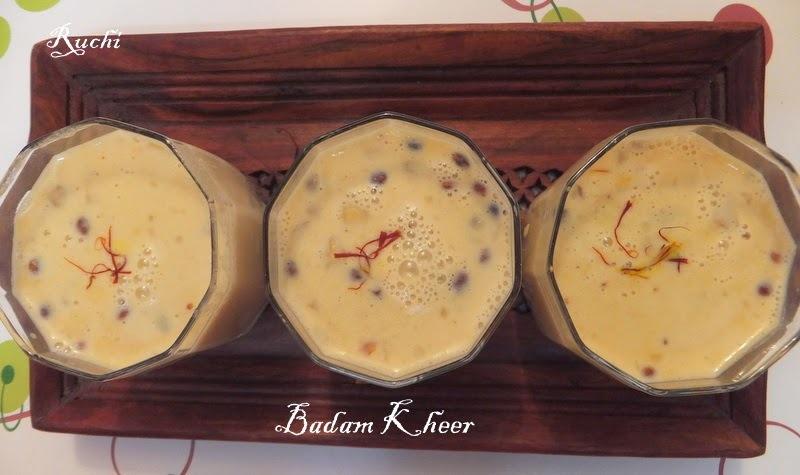 Badam Kheer/Almond Kheer