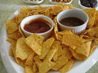 molho mexicano para comer com doritos