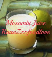 Sweet lime/mosambi juice