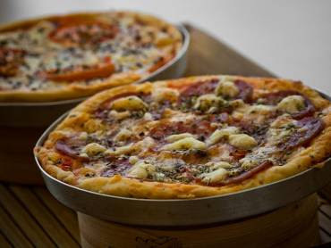 massa simples de pizza de liquidificador sem ovo