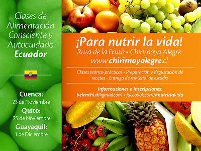 Nuevos talleres en Ecuador