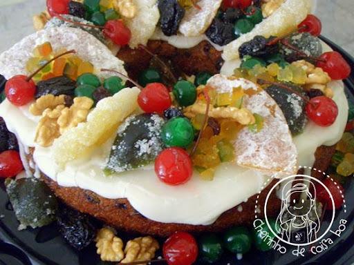 de mini bolos natalinos