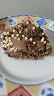 Torta fácil de chocolate e nozes