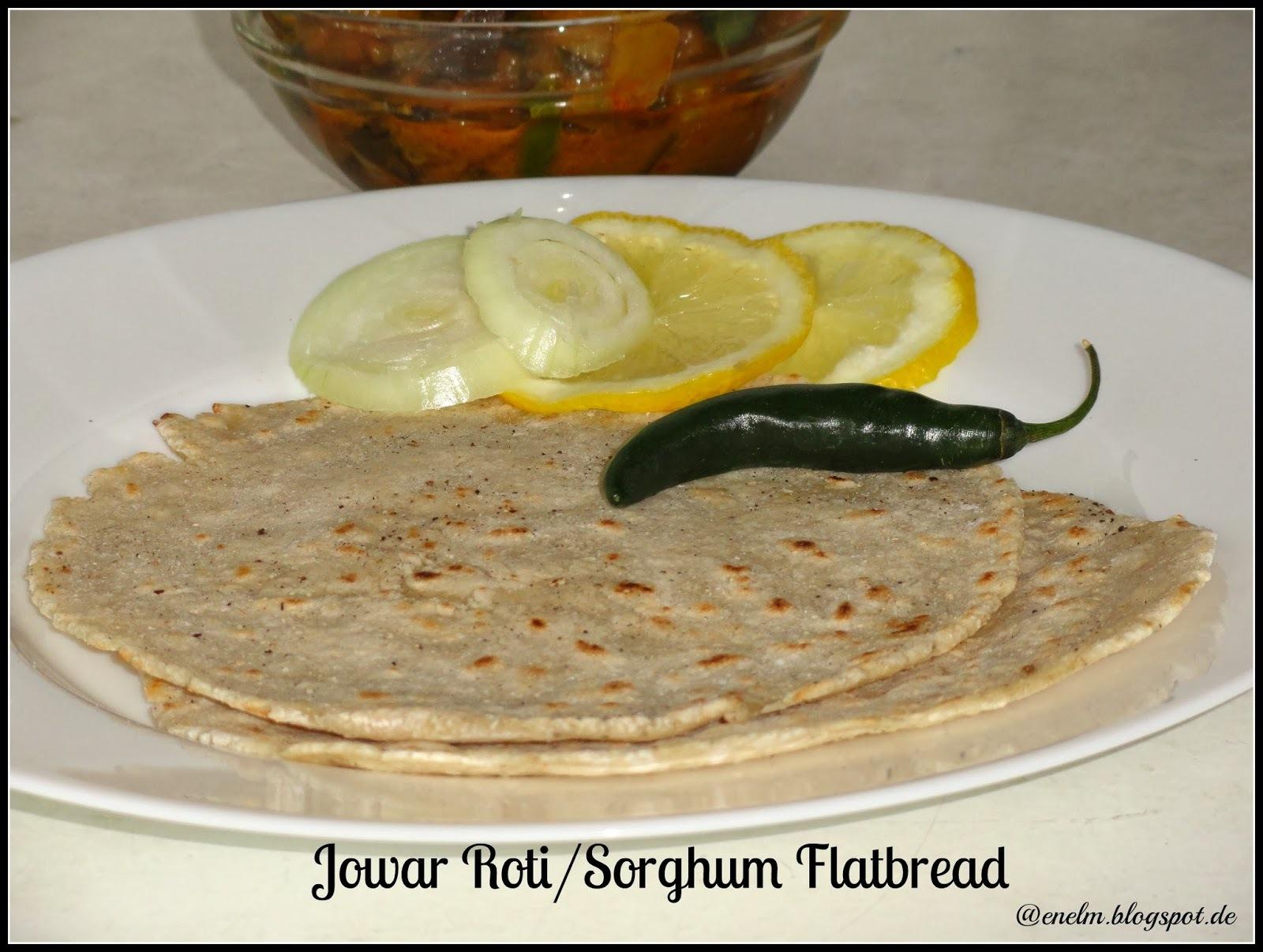 Jowar Roti/Jolada Rotti/Sorghum Flatbread