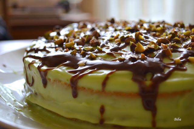 Pistáciová torta