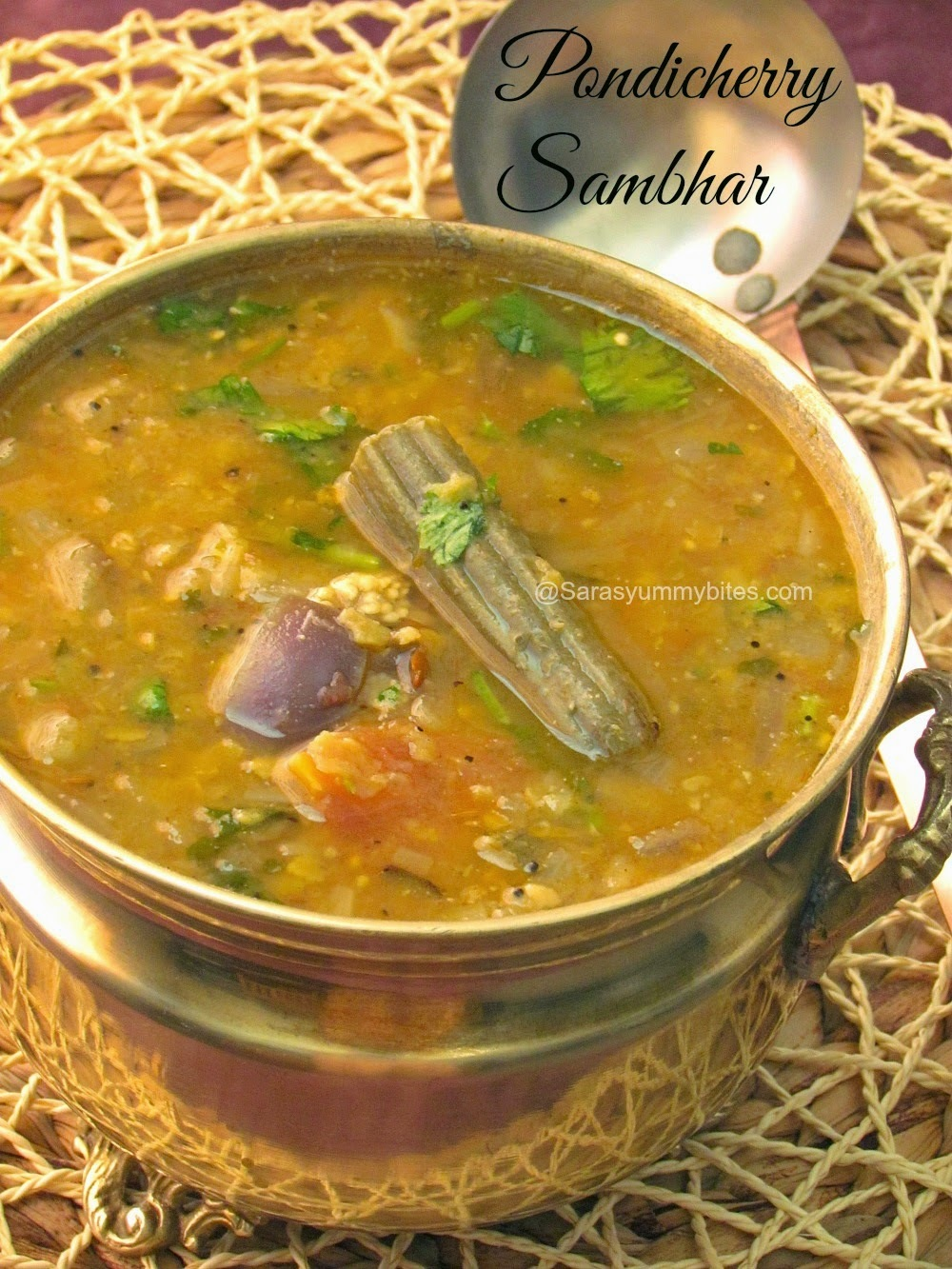 simple sambar in hindi