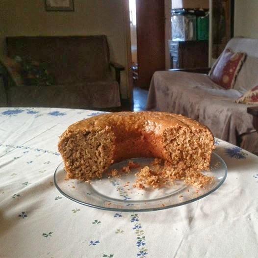 bolo diet com farinha integral