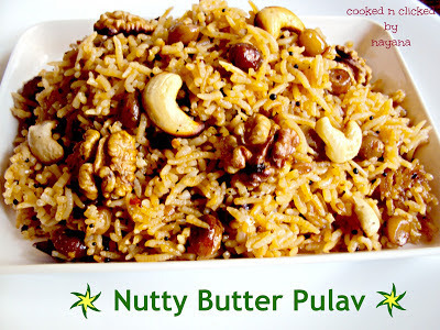 Nutty Butter  Pulav