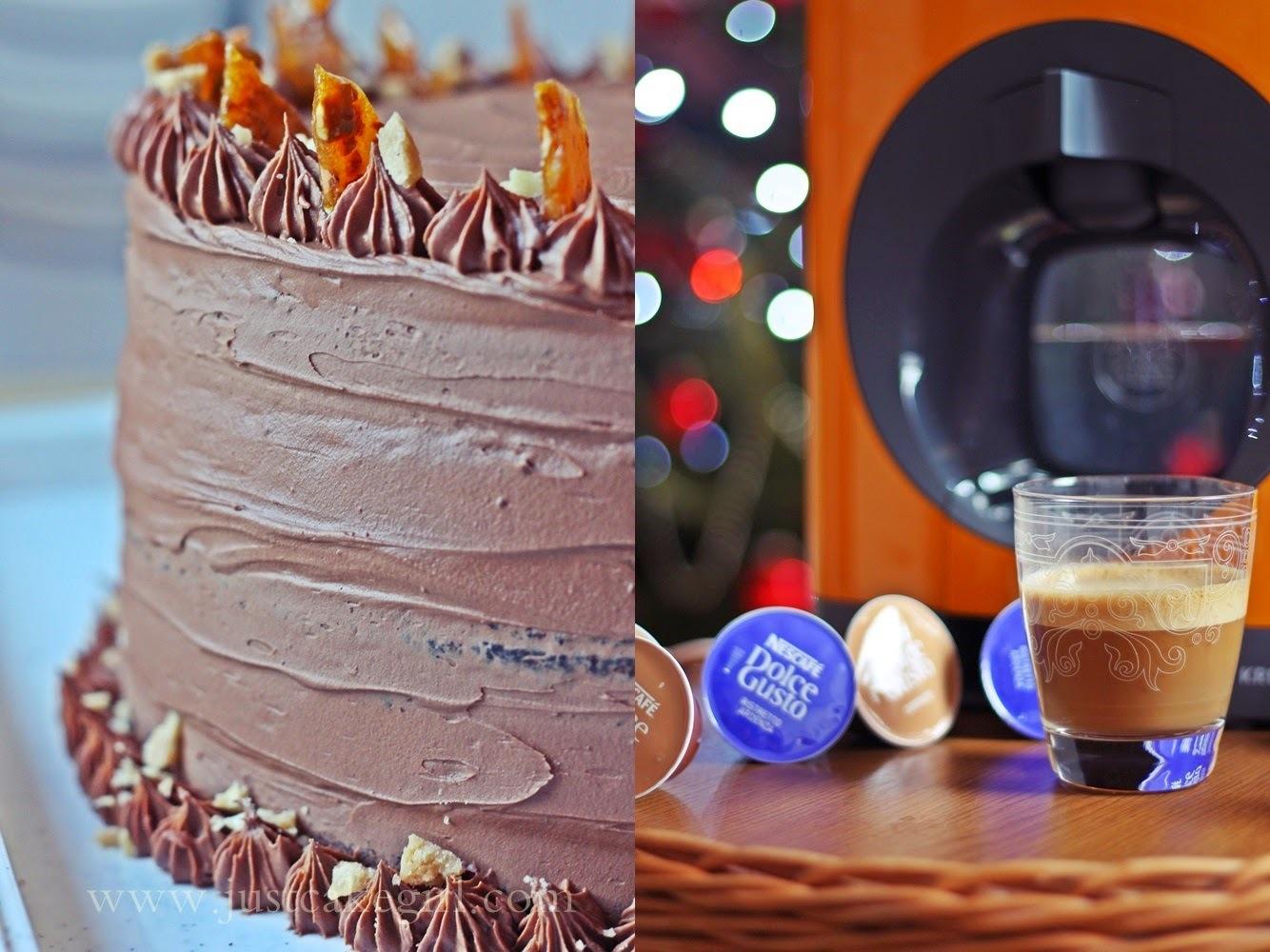 Novogodišnja torta - lješnjak ili pistacija :)