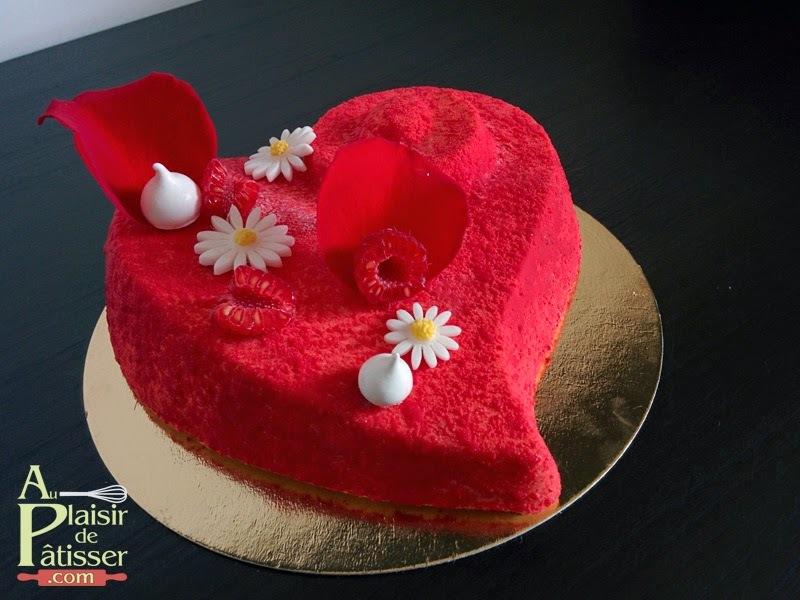 Coeur aux saveurs d'ispahan