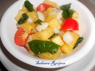 Pineapple Spinach Salsa