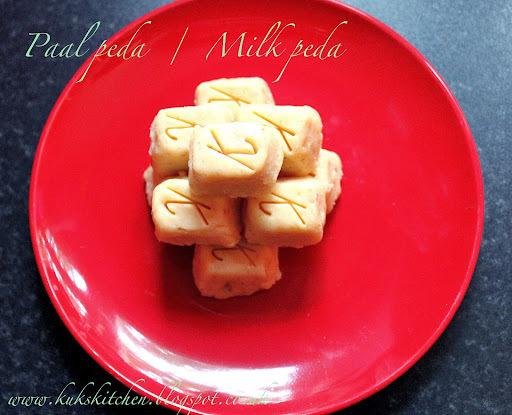 Milk peda     Milma peda     Kukskitchen