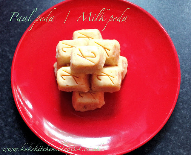 Milk peda  |  Milma peda  |  Kukskitchen