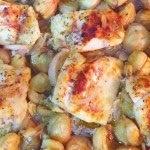 o que pode acompanhar um frango assado no forno