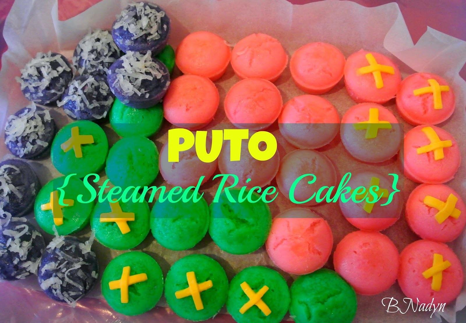 Filipino Puto (Steamed Rice Cakes)