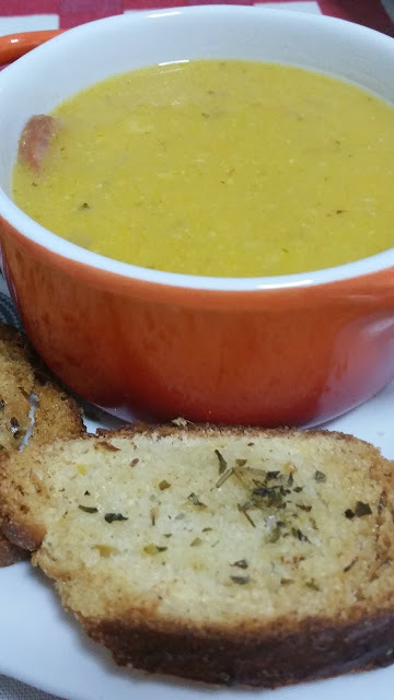 Sopa Cremosa de Milho Verde