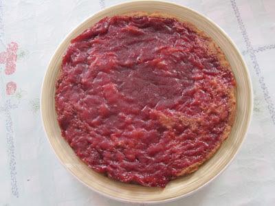 torta de okara ou residuo de soja vegana
