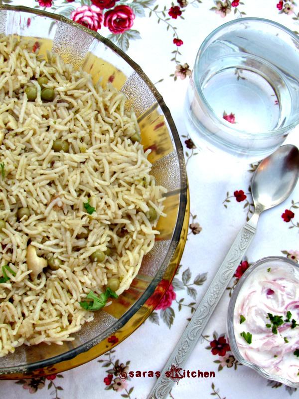 gravy for peas pulao