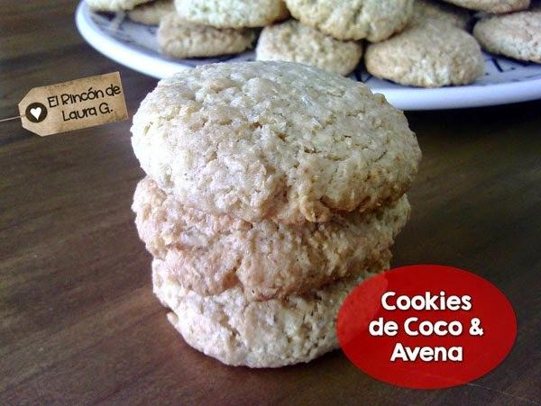 Receta de Cookies de Coco y Avena