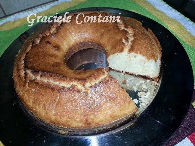 Bolo de arroz (sem glúten), de Graciele Contani