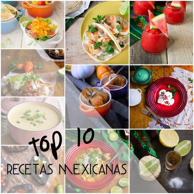 Mi Top 10 Recetas Mexicanas