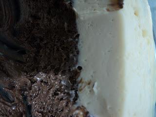 mousse de maracuja mousse com chocolate aerado