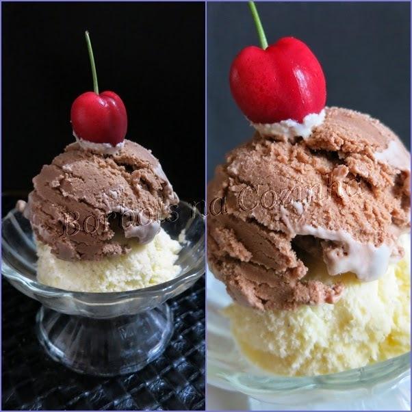 Sorvete de Chocolate ZERO açúcar e sem glúten MARAVILHOSO