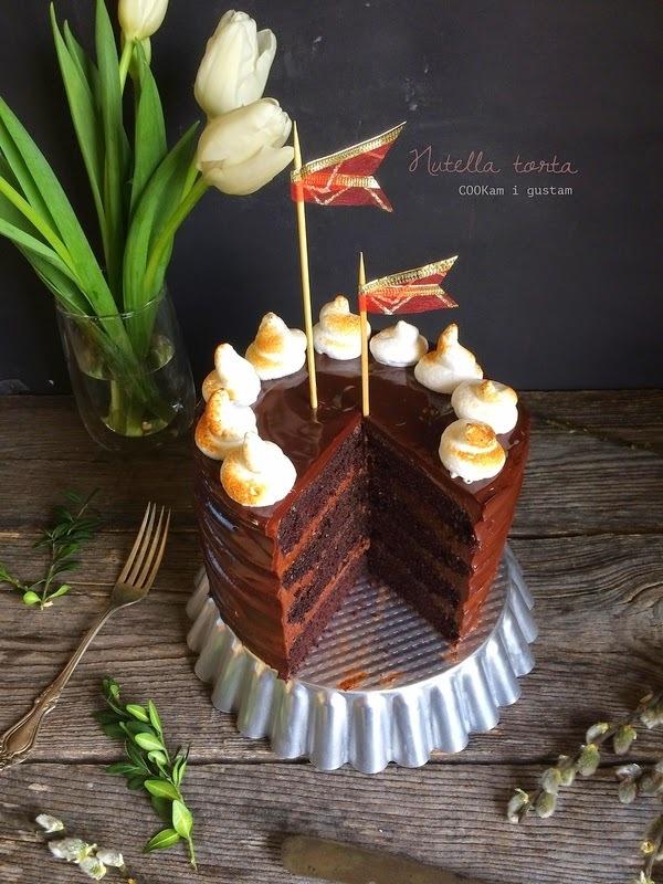 Nutella torta
