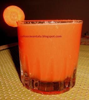 Orange & Carrot Juice