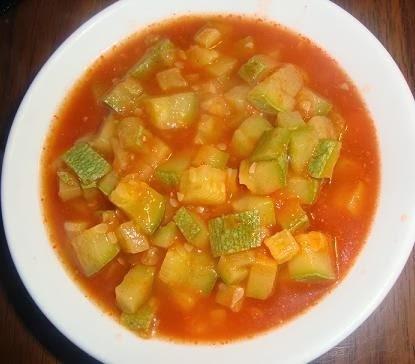 Calabacitas con Tomate