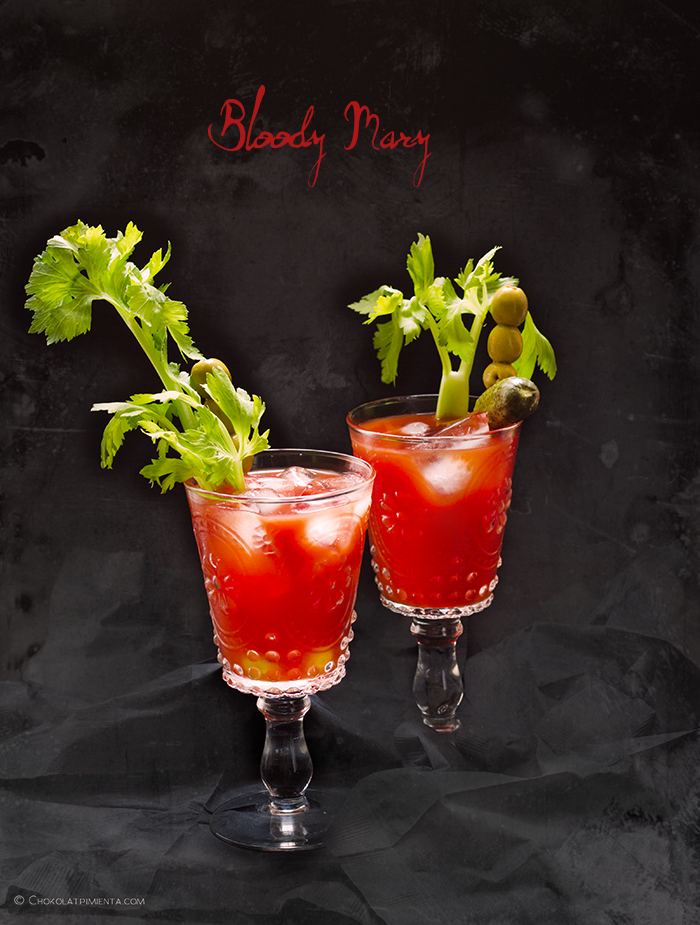 halloween: bloody Mary