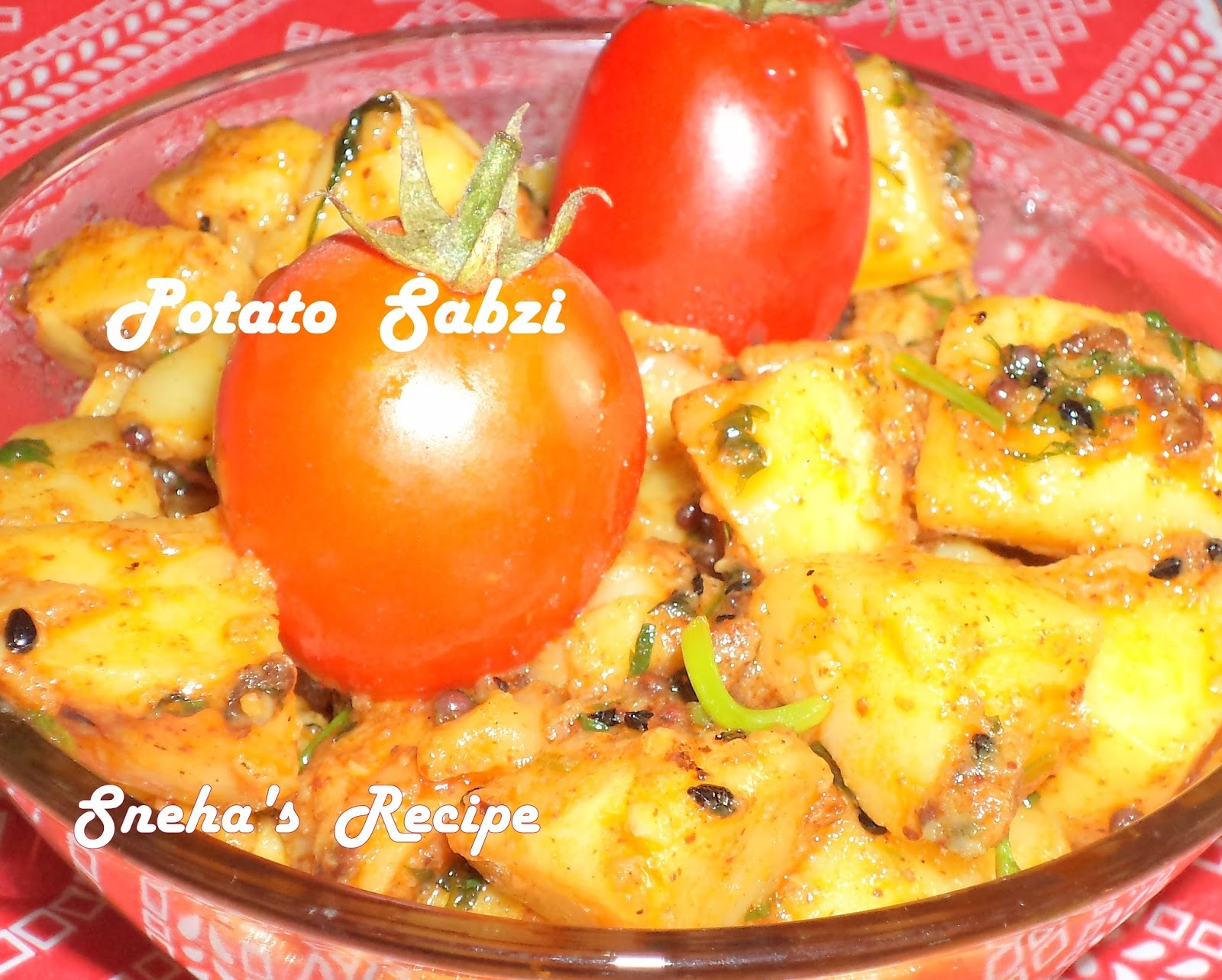 sabzi without onion and garlic