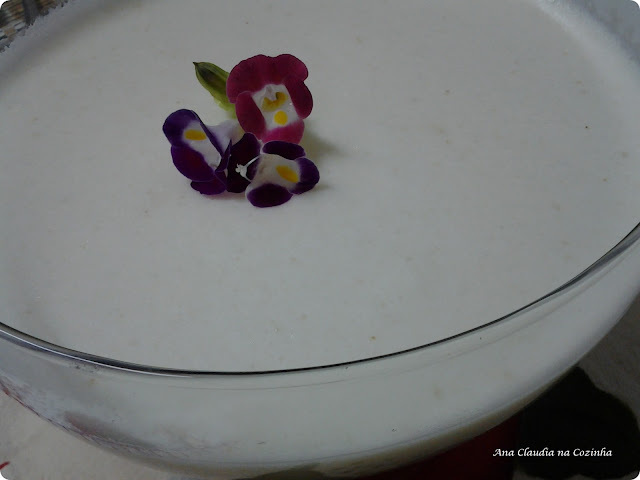 Mousse de Pera - BC Comer Bem Para Viver Melhor