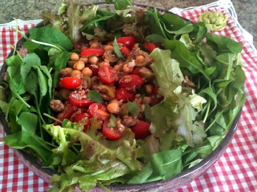 decoração de saladas simples